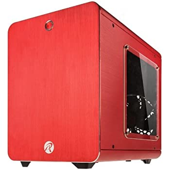 RAIJINTEK METISシリーズ キューブ型アルミニウム製Mini-ITXケース 0R200007 (METIS RED)