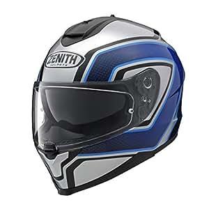 ヤマハ(YAMAHA) バイクヘルメット フルフェイス YF-9 ZENITH サンバイザーモデル スポーツストライプ ブルー XLサイズ(61-62cm) 90791-1786X