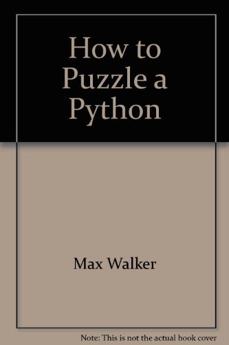 How to Puzzle a Python
