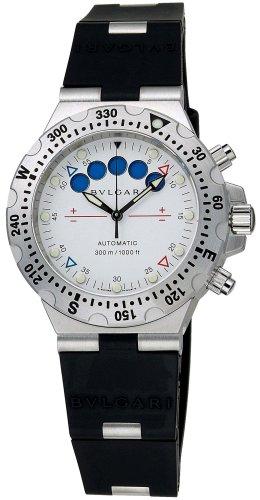 [ブルガリ]BVLGARI 腕時計 DIAGONO PROFESSIONAL ACQUA ディアゴノ ホワイト SD40SV/RE メンズ [並行輸入品]