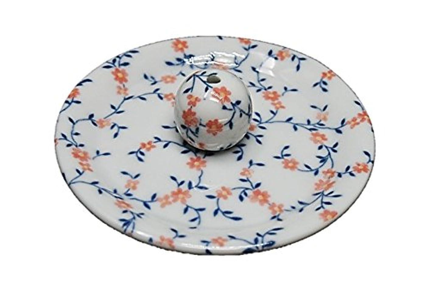 ジェム一定無数の9-6 カントリーフラワー 9cm香皿 お香立て お香たて 陶器 日本製 製造?直売品