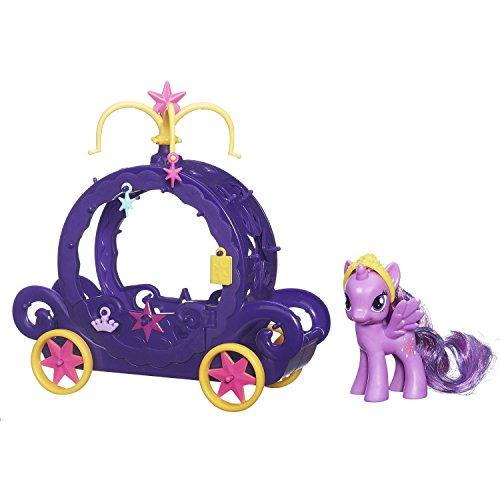 My Little Pony Cutie Mark Magic Princess Twilight Sparkle Charm Carriage Playset [병행수입품]-