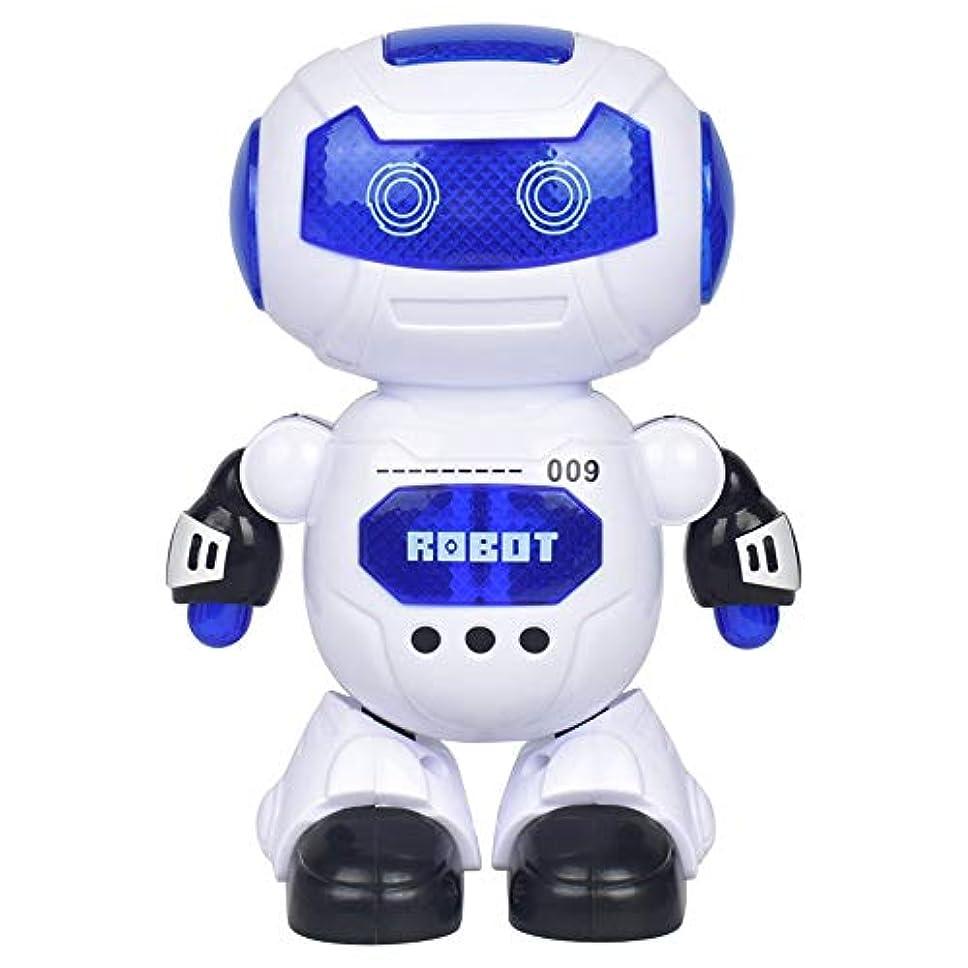 強制的明快顕著KIICN インテリジェント ロボット 音楽ロボット 音楽 ライト ユニバーサル プラスチック 多機能