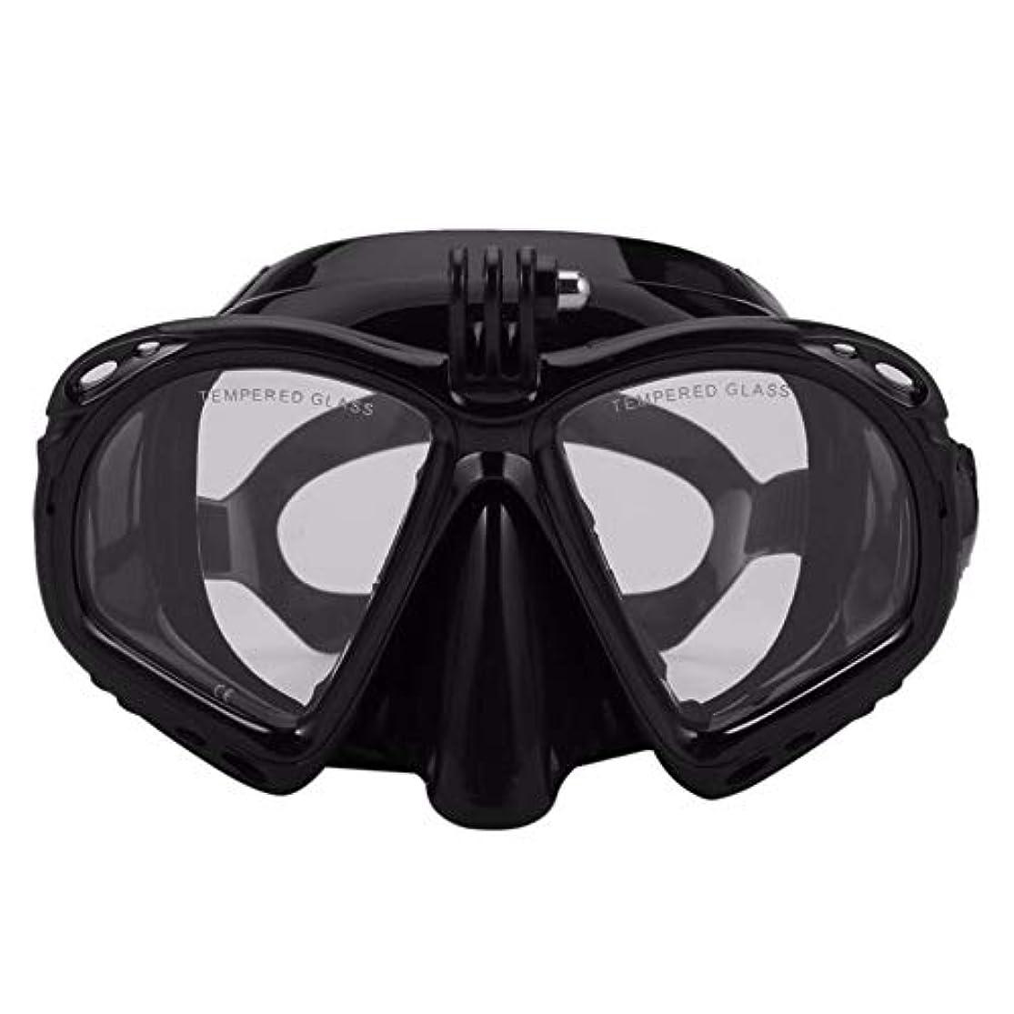 ほとんどのスポーツカメラに適したプロの水中ダイビングマスクダイビングシュノーケル水泳ゴーグルスキューバダイビング機器 g5y9k2i3rw1
