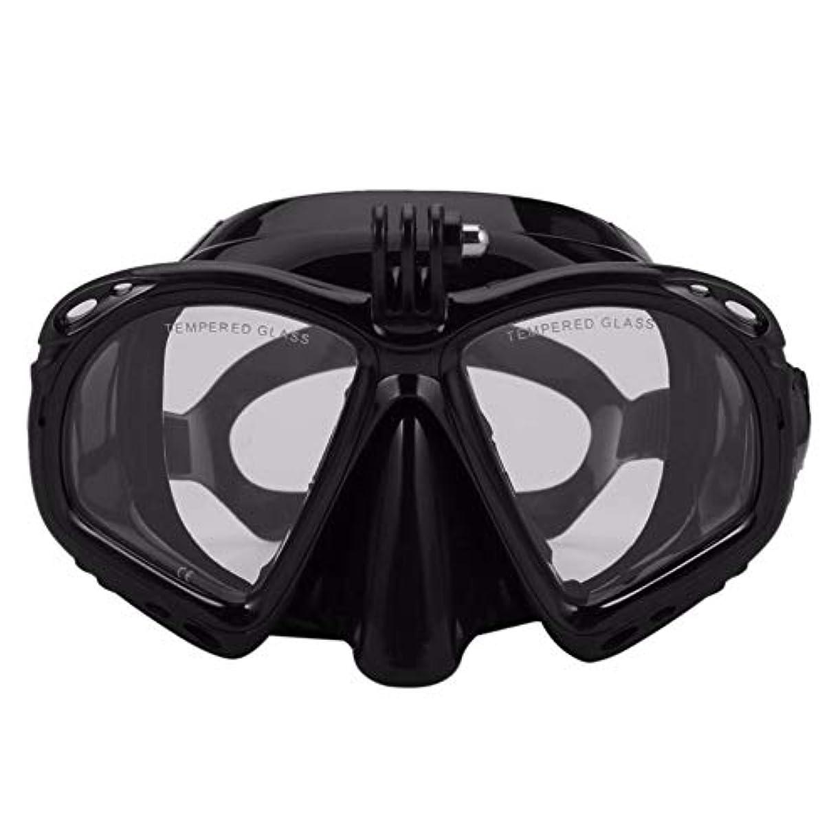 幻影きつくセミナーほとんどのスポーツカメラに適したプロの水中ダイビングマスクダイビングシュノーケル水泳ゴーグルスキューバダイビング機器 g5y9k2i3rw1