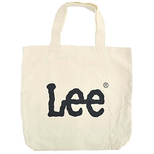 [リー] Lee トートバッグ レディース キャンバス メンズ 0425349 ビッグ プリント ロゴ シンプル マザーズバッグ ブランド 大容量 コットンバッグ デカロゴ