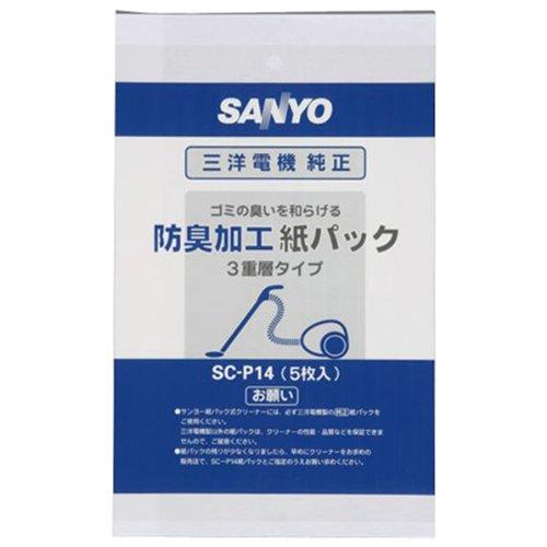 サンヨー 掃除機 紙パック 5枚入 SC-P14