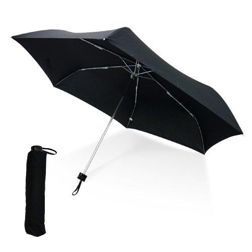 折りたたみ傘 防風 超撥水 黒 58cm