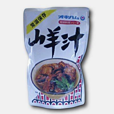 沖ハムの山羊汁1袋(1パック・500g)