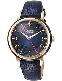 [ヴィヴィアン・ウエストウッド]Vivienne Westwood 腕時計 ネイビー文字盤 VV158BLBL レディース 【並行輸入品】