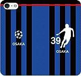 iPhone用選択可:サッカー手帳ケース(大阪:39番_A)レザー/手帳型 iPhone6/6s用
