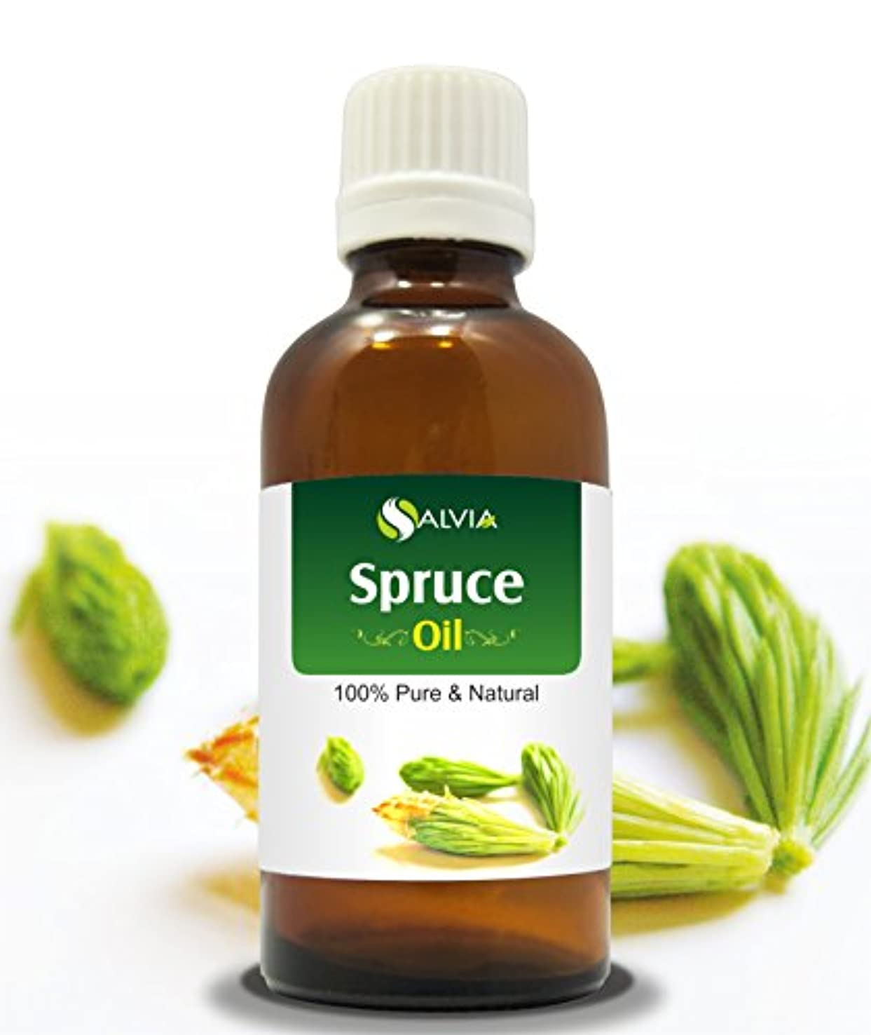艶結婚ほこりSPRUCE OIL 100% NATURAL PURE UNDILUTED UNCUT ESSENTIAL OIL 15ML