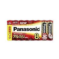 パナソニック == 家電 == / アルカリ乾電池 / 単3形 / 8本シュリンクパック / LR6XJ/8SW