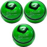 EPCO Candlepin Bowling ball- Comet Proゴム – グリーン、ブラック&ホワイトトリプルボール