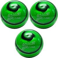 EPCO Candlepin Bowling ball- Comet Proゴム–グリーン、ブラック&ホワイトトリプルボール