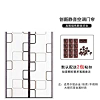 透明です EVA 磁気ウィンドウ画面,熱断熱ドア,ドラフト冷気を防ぐ 磁気スクリーン ドア 自動に近い-D 70x200cm(28x79inch)