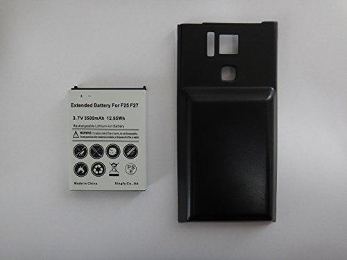 docomo REGZA Phone T-02D 大容量バッテリー + 専用背面カバー (Black) 3500mAh