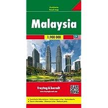 Malaysia Road Map 1:900 000