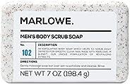 Marlowe. No. 102 Men's Body Scrub Soap 198g