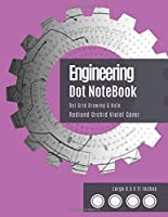 Engineering Notebook Dot: Bullet Dot Grid Notebook - Dotted Graph Notebooks Large (Radiand Orchid Violet Cover) -  Dot Matrix Journal (8.5 x 11 inches), A4 100 Pages, Design Book, Work Book - Graphing Pad, Engineer Drawing & Sketching.