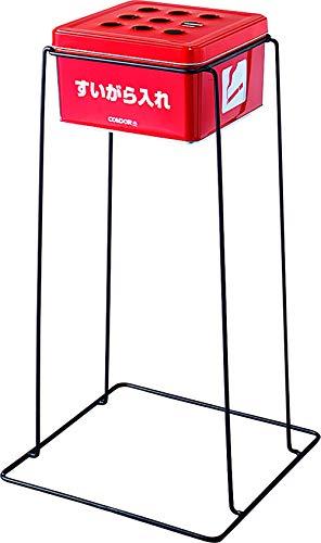 コンドル スモーキング(灰皿) 6L レッド 1台