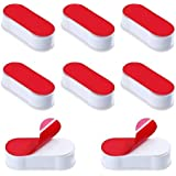 Toilet Seat Buffer 8 Pack Seat Bumpers Universal Stoppers for WC Cover Adhesive White