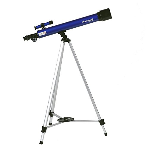 MEADE 天体望遠鏡 AZM-50 星空散歩ライトII 観測キット アクロマート 口径50mm 焦点距離600mm 屈折式 ブルー 003497