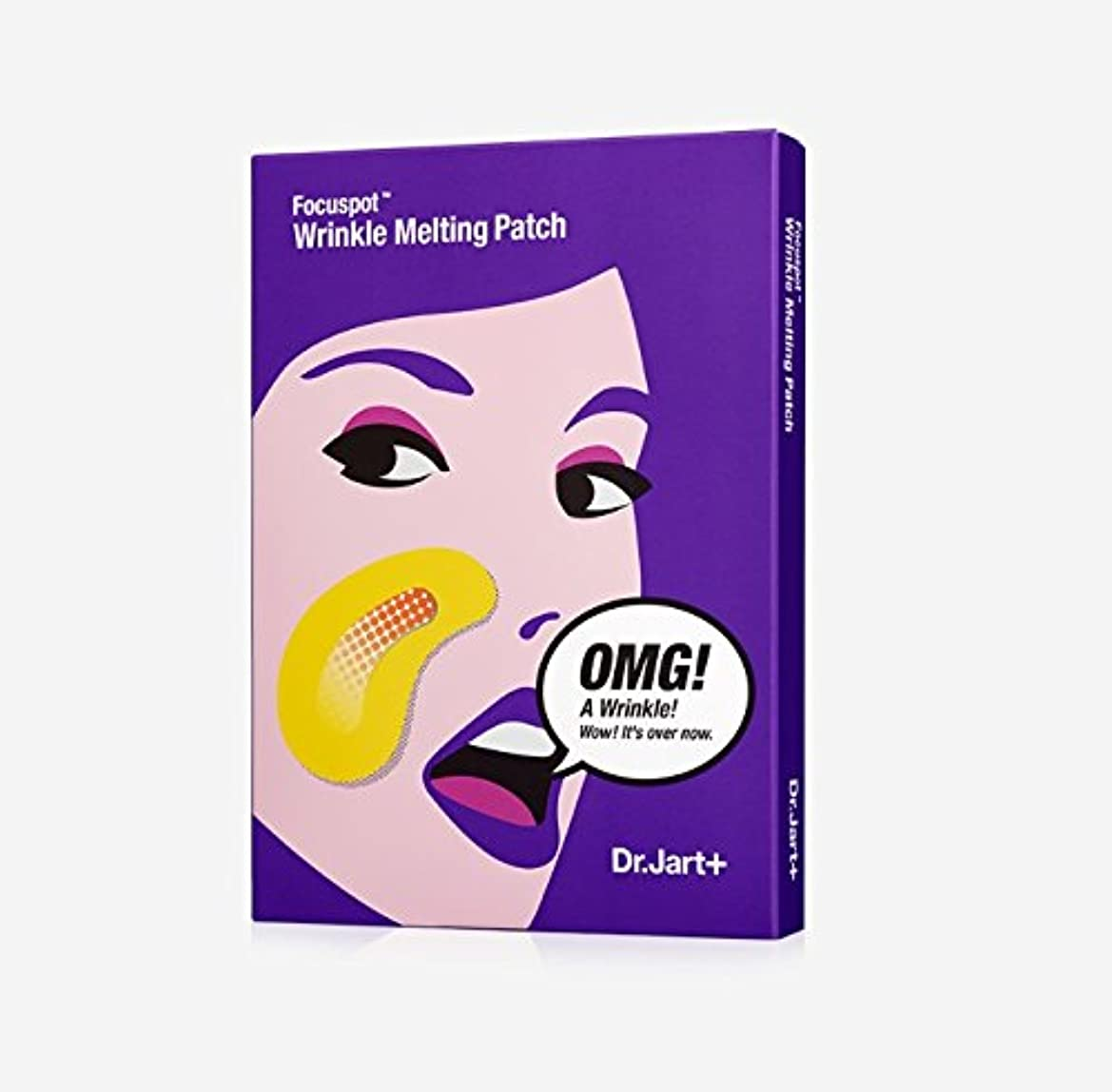 ショット自転車大脳[Dr.Jart+] ドクタージャルトゥ ポーカースポット リンクル メルティング パッチ 5回分/Focuspot Wrinkle Melting Patch [並行輸入品]