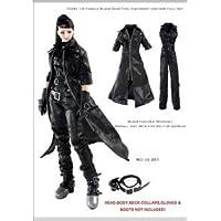 女性ブラックダークツールユニフォームセット Artcreator_BM CC261 new 1/6 Female Dark Tool Equipment Uniform Full Set
