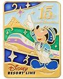 ディズニー ディズニーシー15周年 リゾートライン ピンバッジ