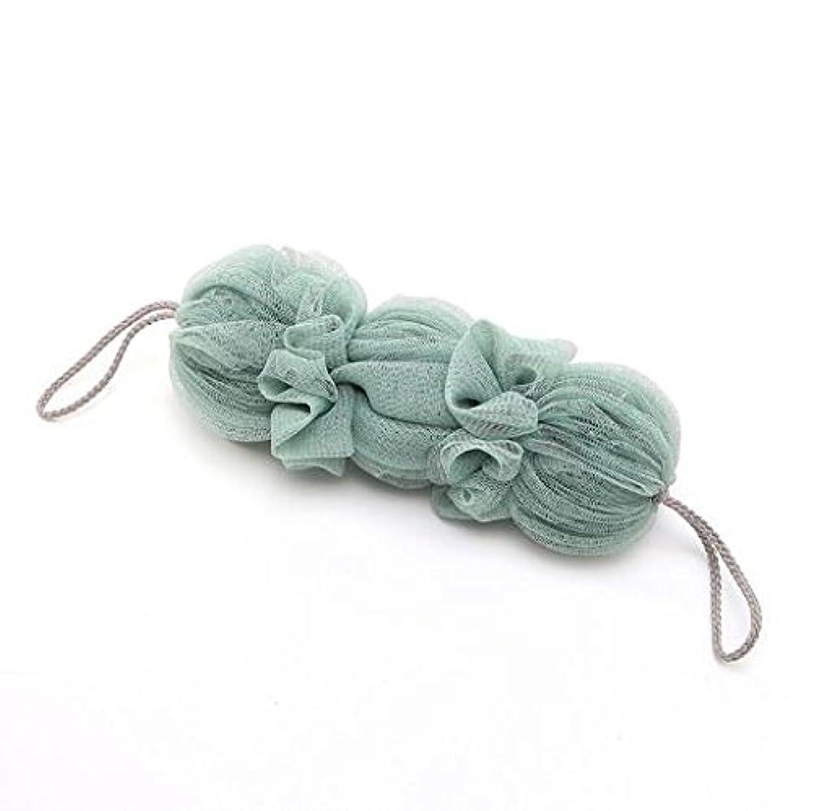闘争マトロン減らすICOUCHI 紐付きボディタオル 背中も洗えるシャボン 泡立てネット 超柔軟 シャワー用 細かいネット 柔らかい泡立てネット