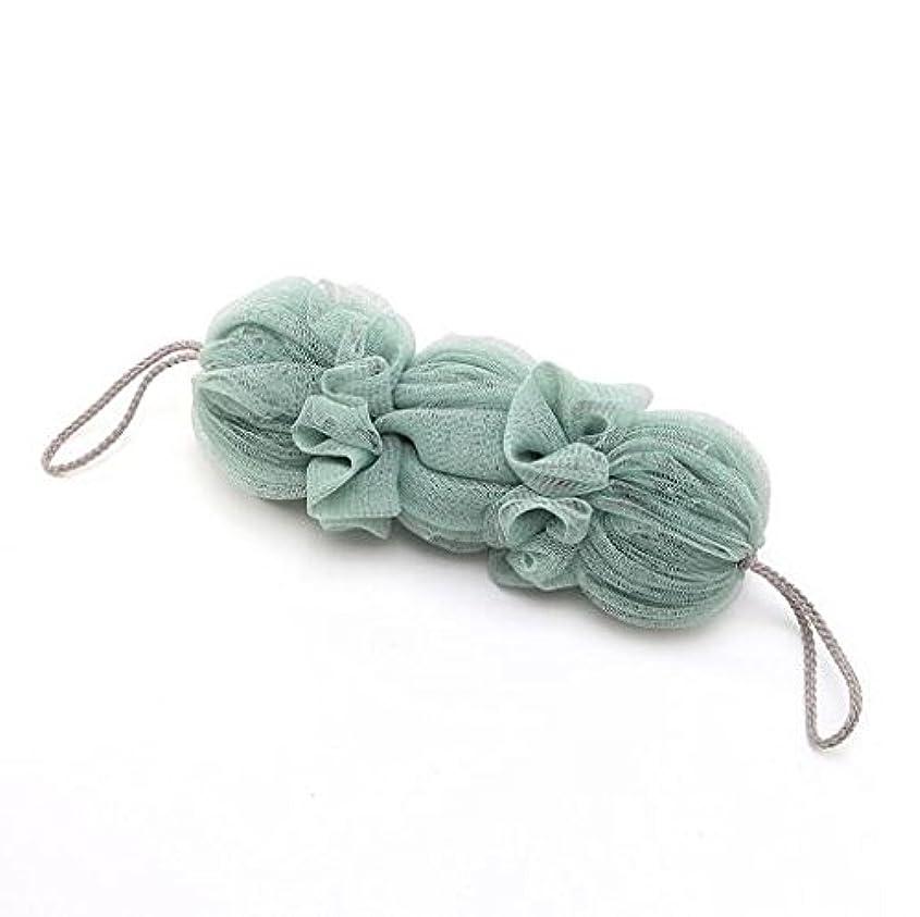 記念日豊富にバターICOUCHI 紐付きボディタオル 背中も洗えるシャボン 泡立てネット 超柔軟 シャワー用 細かいネット 柔らかい泡立てネット