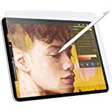 """MoKo Paper-Like Screen Protector Replacement for iPad Pro 12.9"""" 2018, Write, Draw and Sketch with The Apple Pencil Like on Paper Anti Reflection for Apple iPad Pro 12.9 inch 2018 Tablet - Clear"""