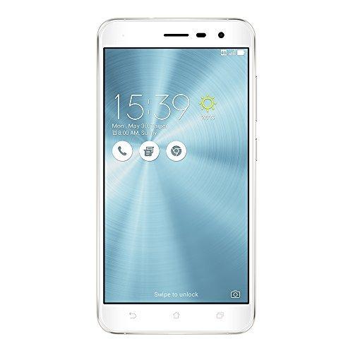 ASUSエイスースZenFone3ホワイトZE520KL(SIMフリー3GB32GB)[並行輸入品]