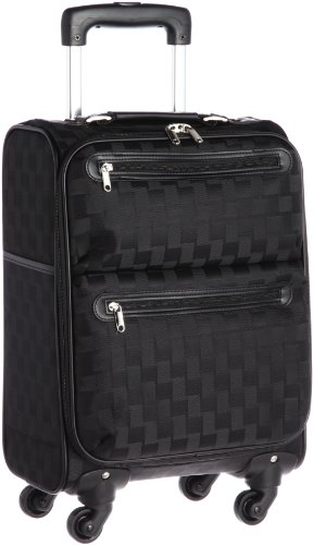 [シフレ] スーツケース エスケープ ソフトキャリーケース 41㎝ 28L 2.4㎏ ポリエステル ESCAPE'S 機内持込可 28.0L 49cm 2.4kg C9711T-41 ブラック ブラック