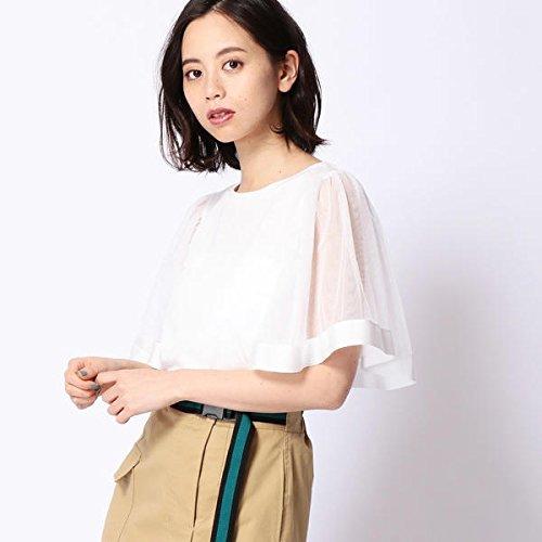 179/WG(179 WG) チュール切り替えTシャツ