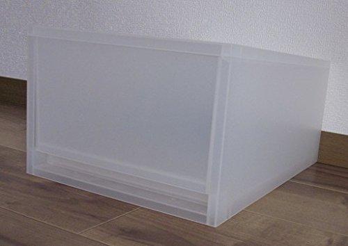RoomClip商品情報 - 無印良品 ポリプロピレンケース・引出式・深型 (V)約幅26×奥37×高17.5cm