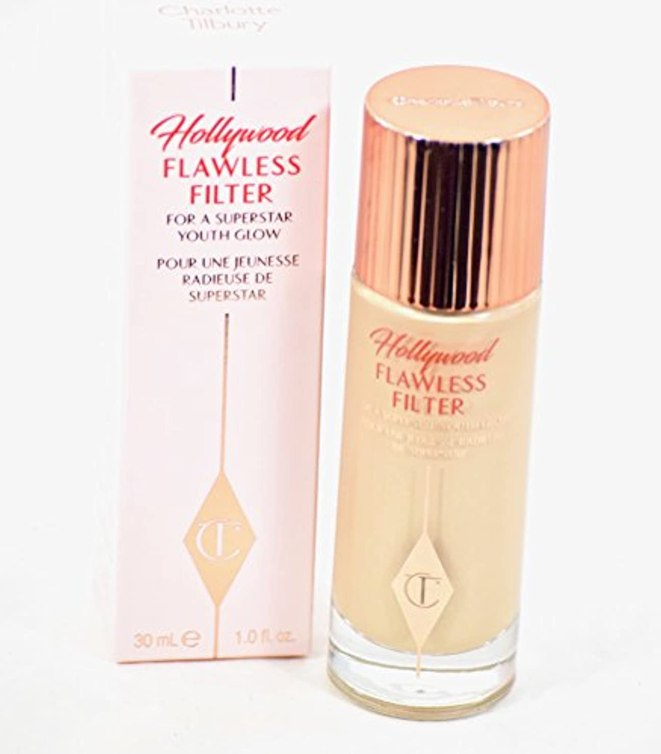 アミューズメント永遠のガジュマルCharlotte Tilbury Hollywood Flawless Filter No 1 Fair 30ml
