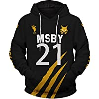 TISEAS Haikyuu MSBY Black Jackals Hoodie Sweatshirt Pullover Jacket Haikyuu Cosplay Costume Hoodies