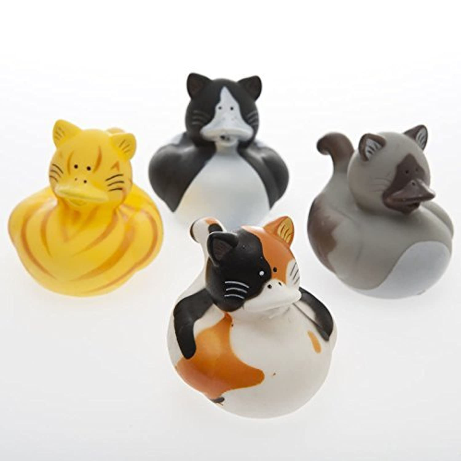 Cat Rubber Ducks by Century Novelty [並行輸入品]
