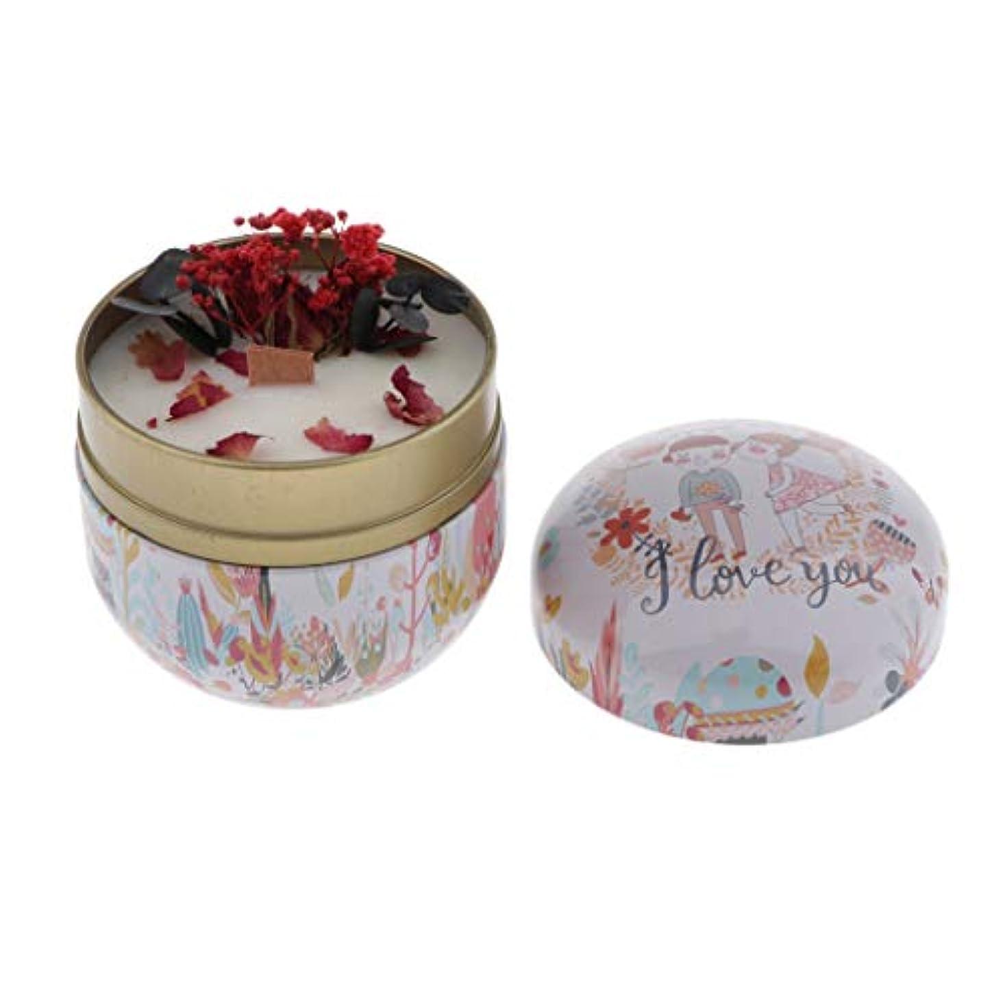 かる絶望学部長chiwanji 植物ワックス アロマキャンドル ローソク 蝋燭 ろうそく キャンドル ライト 香料入り 260g 全4カラー - 甘い桃とバニラ