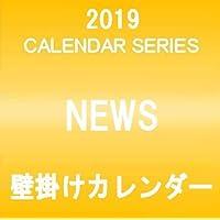 NEWS 2019 壁掛けカレンダー クリアファイル&ステッカー付き