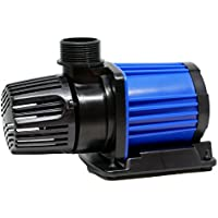 HSBAO DEP-6000 吐出量6500L/H (毎分108L) 揚程4m DCポンプ 水中ポンプ 水槽ポンプ 省エネ 低騒音 99段階流量調整 オーバーフロー水槽に最適60