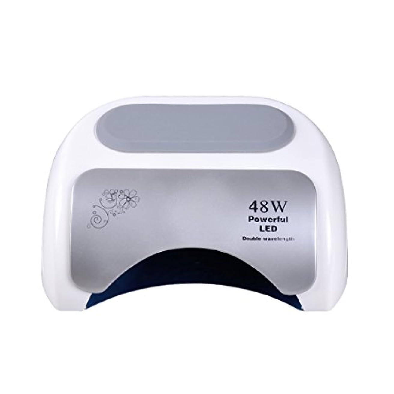 近似お願いします住居Nananail 48Wネイルドライヤー CCFL+ LEDネイルランプ 時間設定10s/30s/60s 速乾性 自動センサー付き
