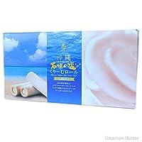 沖縄石垣の塩くりーむロール (大) 30本入り×3箱 ナンポー通商 沖縄石垣の塩を使用!贈り物にもおすすめです