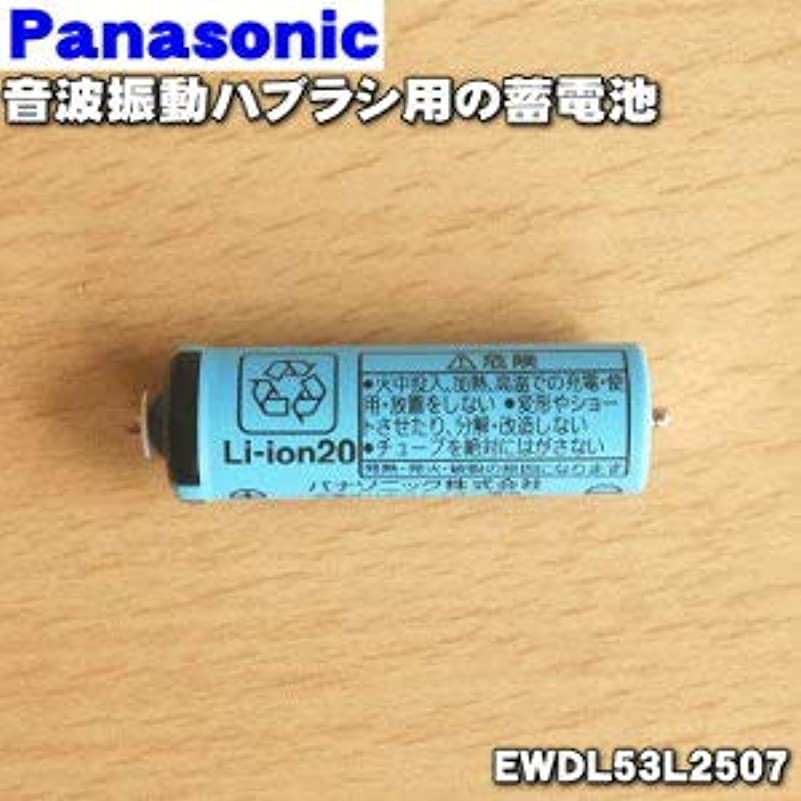 くさび降ろすアナリストパナソニック Panasonic 音波振動ハブラシ Doltz 蓄電池交換用蓄電池 EWDL53L2507