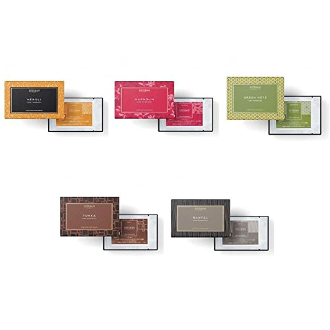 群れ着替えるピルエステバン カードフレグランス 5種セット