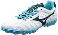 [ミズノ] サッカーシューズ レビュラ V3 Jr AS [ジュニア] ホワイト×ブラック×ライトブルー 22.5 (旧モデル)