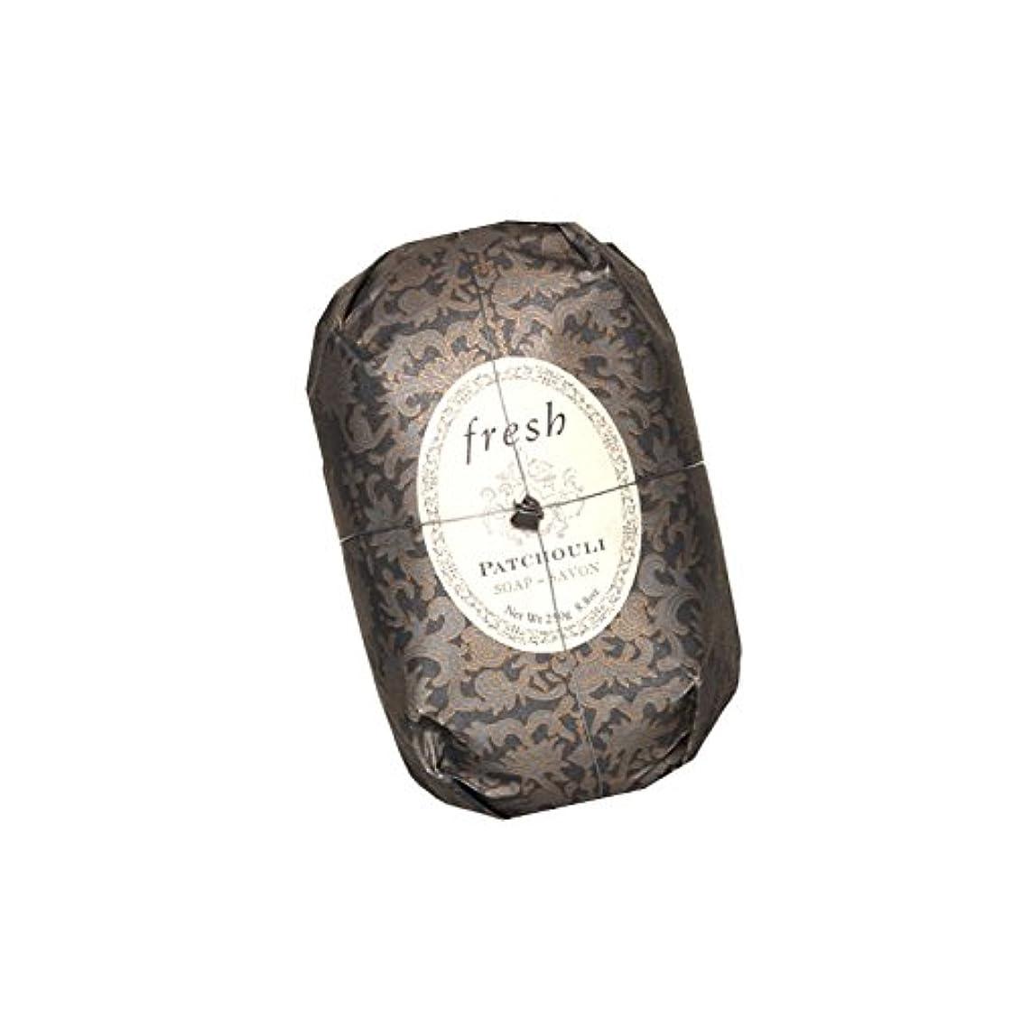 広告する花火ランドマークFresh フレッシュ Patchouli Soap 石鹸, 250g/8.8oz. [海外直送品] [並行輸入品]