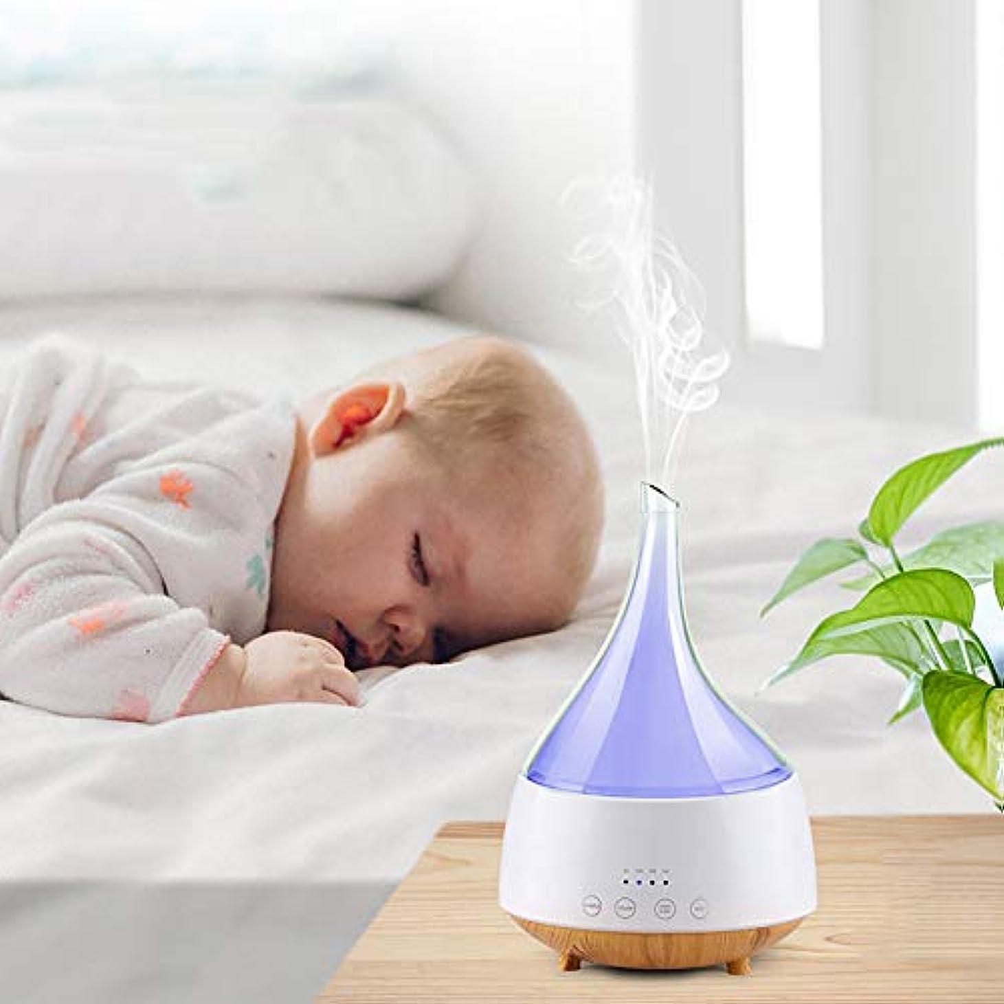接辞過剰ではごきげんよう超音波 アロマディフューザー 、空気加湿器寝室妊娠中の女性の赤ちゃんサイレントディフューザー